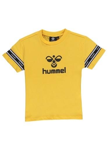 Hummel  Davıd Kısa Kollu Tışört Sarı